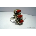 tripple coral ring