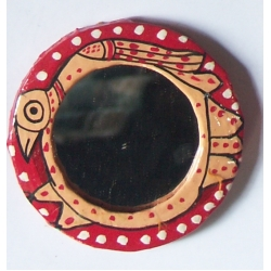 Pocket Size Round Mirror