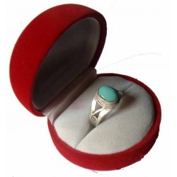 Torquise Sterling Silver Ring